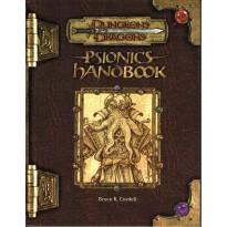 Psionics Handbook (jdr Dungeons & Dragons 3.0 en VO) 001
