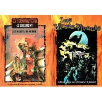 Lot Le Manuel de Survie & Les Morts-Vivants (jdr Exterminateur Le Jugement) L077