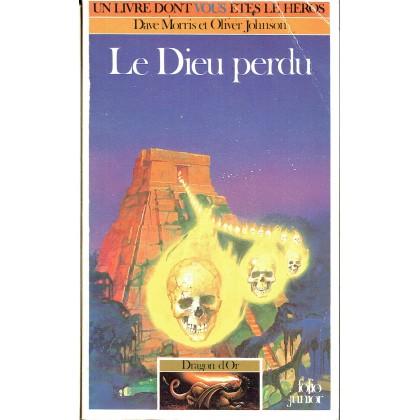 317 - Le Dieu perdu (Un livre dont vous êtes le Héros - Gallimard) 004