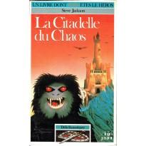 268 - La Citadelle du Chaos (Un livre dont vous êtes le Héros - Gallimard) 002