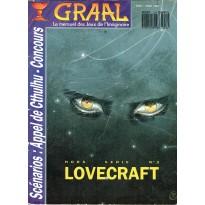 Graal Hors-Série N° 2 - Spécial Lovecraft (Le mensuel des jeux de l'imaginaire et de rôles) 002