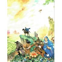 Ecran du Maître de jeu (jdr Guildes La Quête des Origines) 001