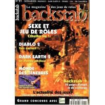 Backstab N° 21 (magazine de jeux de rôles) 002