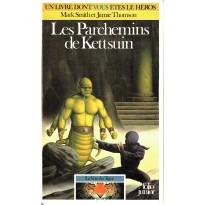 372 - Les Parchemins de Kettsuin (Un livre dont vous êtes le Héros - Gallimard) 001