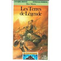 577 - Les Terres de Légende (Un livre dont vous êtes le Héros - Gallimard) 001