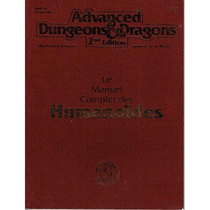 Le Manuel Complet des Humanoïdes (jdr AD&D 2ème édition en VF) 002