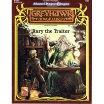 WGR3 Rary the Traitor (AD&D 2ème édition - Greyhawk Adventures) 001