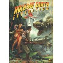 Hollow Earth Expedition - Livre de Règles (jeu de rôle en VF)