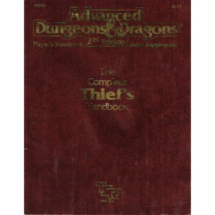 The Complete Thief's Handbook (jdr AD&D 2ème édition VO) 002