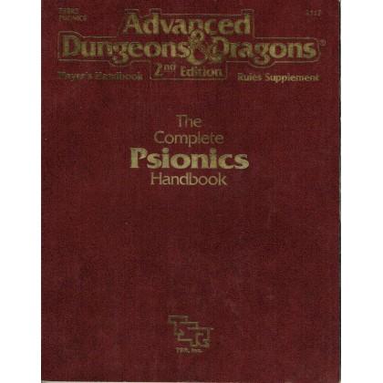 The Complete Psionics Handbook (jdr AD&D 2ème édition VO) 001