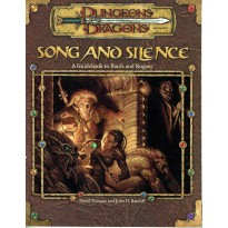 Song and Silence (jdr Dungeons & Dragons 3.0 en VO)
