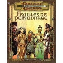 Feuilles de Personnage (jdr Dungeons & Dragons 3.0 en VF) 004