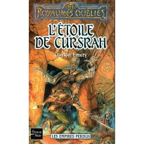 L'Etoile de Cursrah (roman Les Royaumes Oubliés en VF) 001