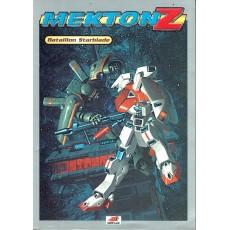 Mekton Z - Bataillon Starblade (jdr d'Oriflam en VF)