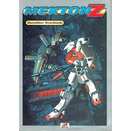 Mekton Z - Bataillon Starblade (jdr d'Oriflam en VF) 002