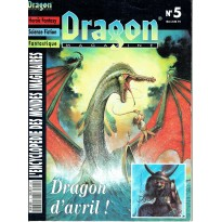 Dragon Magazine N° 5 (L'Encyclopédie des Mondes Imaginaires) 001