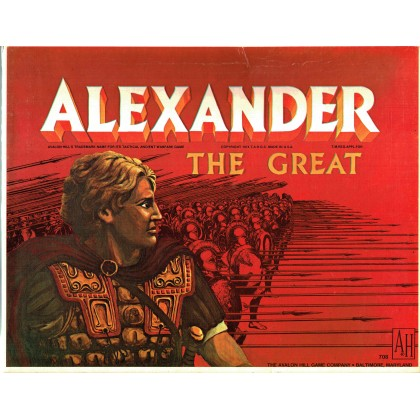 Alexander The Great (wargame Avalon Hill en VO) 001