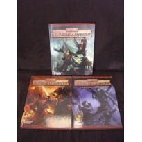 Les Voies de la Damnation - La Trilogie complète (Warhammer jdr 2ème édition en VF) L081