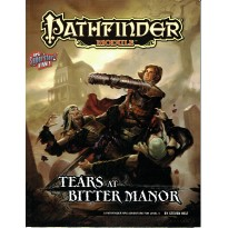Tears at Bitter Manor (jdr Pathfinder Module en VO)