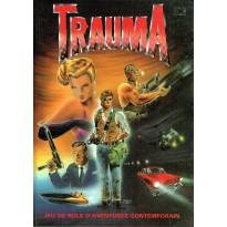 Trauma - Jeu de rôle d'aventures contemporain (livre de base jdr en VF)