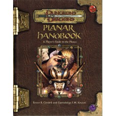 Planar Handbook - A Player's Guide to the Planes (jdr D&D 3.5 en VO)
