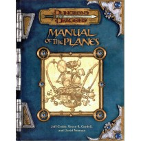 Manual of the Planes (jdr Dungeons & Dragons 3.0 en VO)