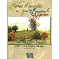 """Livret N°1: """"Vive la nation, 1792-1802""""  (supplément jeu de figurines DBN) 001"""