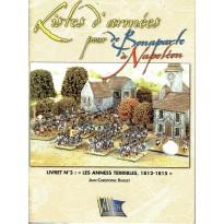 """Livret N°3: """"Les années terribles, 1812-1815""""  (supplément jeu de figurines DBN) 001"""