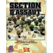 Section d'Assaut - Règle de jeu avec figurines pour la Seconde Guerre Mondiale (Livre V2 en VF) 001