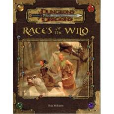 Races of the Wild (jdr D&D 3.5 en VO)