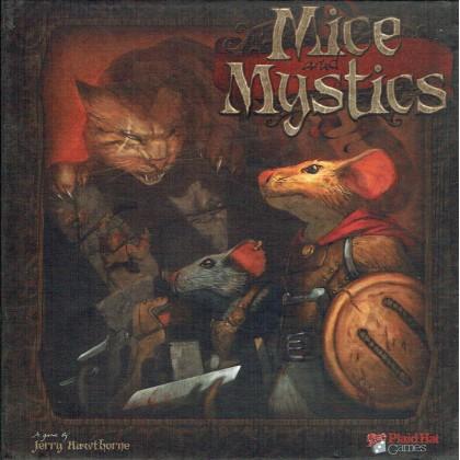 Mice & Mystics (jeu de stratégie de Plaid Hat Games en VO) 001