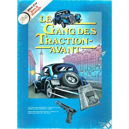 Le Gang des Traction-Avant (jeu de plateau d'International Team en VF) 001