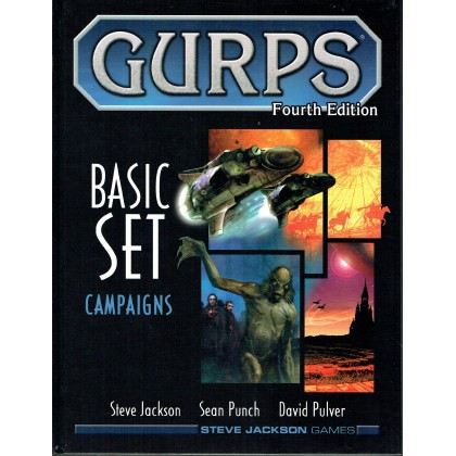 Basic Set Campaigns (GURPS Rpg Fourth edition en VO) 001