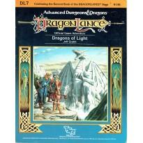 Dragonlance - DL7 Dragons of Light (jdr AD&D 1ère édition) 003