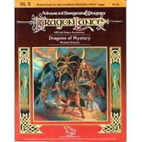 Dragonlance - DL5 Dragons of Mystery (jdr AD&D 1ère édition) 002