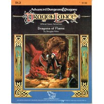 Dragonlance - DL2 Dragons of Flame (jdr AD&D 1ère édition) 001