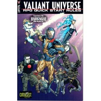 Valiant Universe - RPG Quick Start Rules (kit découverte jdr en VO) 001