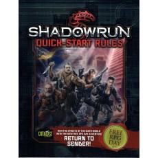 Shadowrun V4 & Battletech A Time of War - RPG Quick-Start Rules (kits découverte jdr en VO)