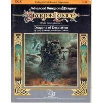 Dragonlance - DL4 Dragons of Desolation (jdr AD&D 1ère édition) 001