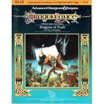 Dragonlance - DL13 Dragons of Truth (jdr AD&D 1ère édition) 001