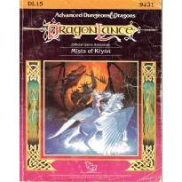 Dragonlance - DL15 Mists of Krynn (jdr AD&D 1ère édition) 001
