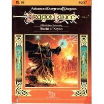 Dragonlance - DL16 World of Krynn (jdr AD&D 1ère édition) 001