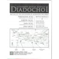 Diadochoi - The Great Battles of Alexander Deluxe (Module wargame GMT en VO) 001