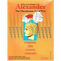 The Great Battles of Alexander - The Macedonian Art of War (wargame GMT en VO)