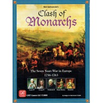 Clash of Monarchs - The Seven Years War in Europe (wargame GMT) 001