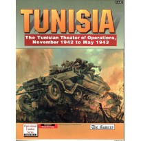 Tunisia - The Tunisian Theater of Operations, November 1942 to May 1943 (wargame The Gamers) 001