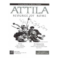 Attila - Scourge of Rome - The Great Battles of History Series (module wargame de GMT) 001