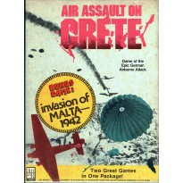Air Assault on Crete + Invasion of Malta (wargame Avalon Hill en VO) 002