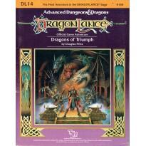 Dragonlance - DL14 Dragons of Triumph (jdr AD&D 1ère édition en VO) 001