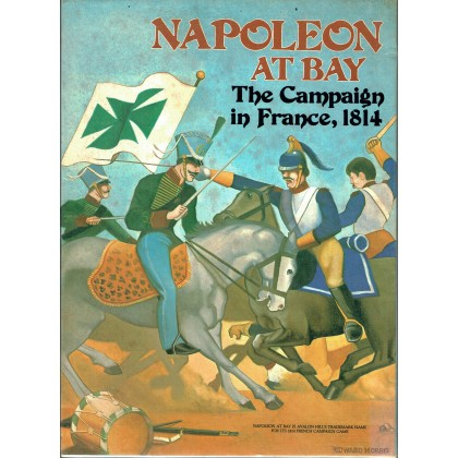 Napoleon at Bay - The Campaign in France 1814 (wargame Avalon Hill en VO) 001